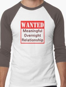 Wanted Men's Baseball ¾ T-Shirt