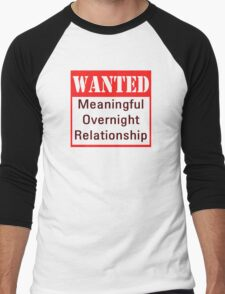 Wanted Men's Baseball ¾ T-Shirt