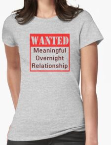 Wanted Womens T-Shirt