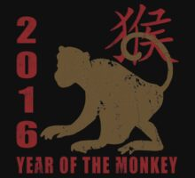 Year of The Monkey 2016 Chinese Zodiac Monkey by ChineseZodiac