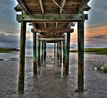 Under the Pier by jimcrotty