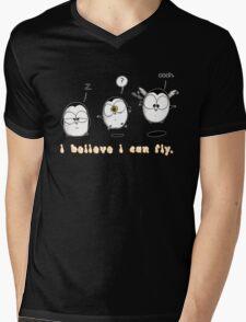 I Believe I Can Fly Mens V-Neck T-Shirt