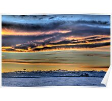 Sunset Braides Poster
