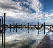 Morning at the Marina by jimcrotty