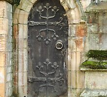 East Church Door by John Dunbar