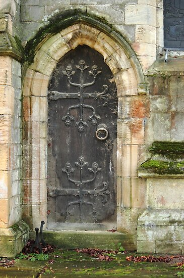 East Church Door by John Dunbar