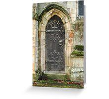 East Church Door Greeting Card