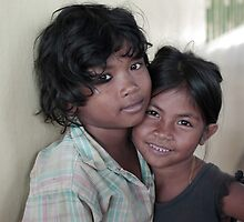 cambodian battambang street kids by Matt Bishop
