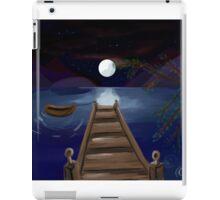 The midnight Pier iPad Case/Skin