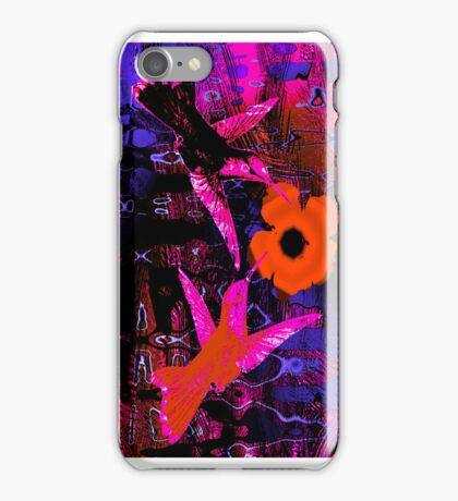 RED FLOWER. iPhone Case/Skin