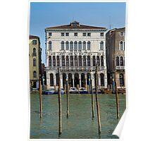 Ca' Loredan, Venice , city hall palaces of Venice. Poster