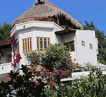 Upper Part of a House in the Gringo Gulch, Puerto Vallarta, Mexico by PtoVallartaMex