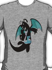 Dratini evolution chart (transparent) T-Shirt