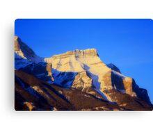 Banff Mountains Canvas Print