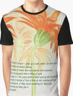 Passion in Prayer Graphic T-Shirt