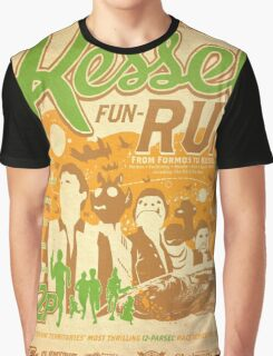 Kessel Fun-Run (12-Parsec Race to Cure Wookiee-Pox) Graphic T-Shirt
