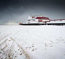 Britannia Pier - Winter by Harryjack