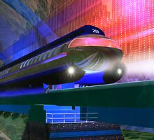 Future Train by Carol and Mike Werner