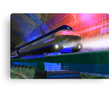 Future Train Canvas Print