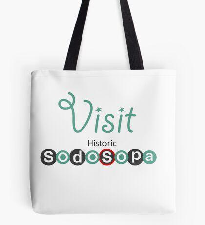 Visit Historic SodoSopa Tote Bag