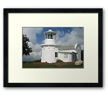 Replica of the 1880 Yamba Lighthouse Framed Print