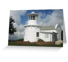 Replica of the 1880 Yamba Lighthouse Greeting Card