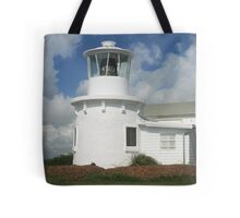 Replica of the 1880 Yamba Lighthouse Tote Bag
