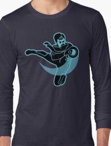 TRON SWANSON Long Sleeve T-Shirt