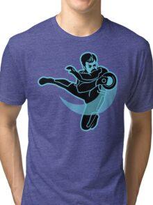 TRON SWANSON Tri-blend T-Shirt