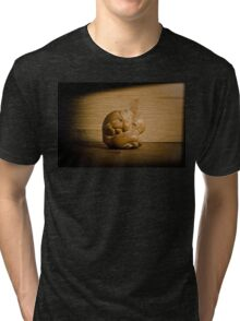 Too Sick To Pray Tri-blend T-Shirt