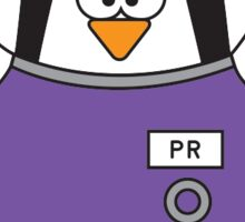HUB Penguin Sticker