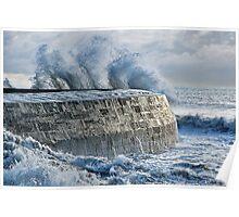 Winter Storms 2 ~ Lyme Regis Poster