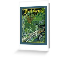 Fallen Giants - Regeneration In The Forest Greeting Card