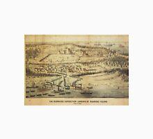Old Roanoke Island Burnside Expedition Map (1862) Unisex T-Shirt