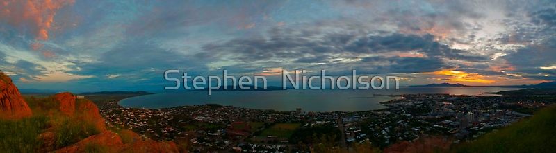 Dawn Over The Bay by Stephen  Nicholson