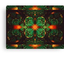 Crimson And Clover Canvas Print