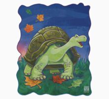 Animal Parade Tortoise One Piece - Short Sleeve
