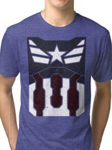 American Shield - Distressed Tri-blend T-Shirt