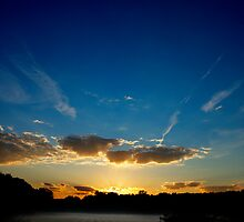 Sunrise Over Michigan by Chad Ely