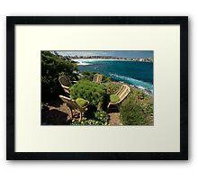 Ultimate Garden Furniture @ Sculptures By The Sea Framed Print