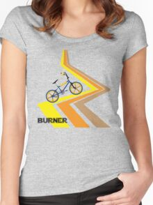 Retro 1980's Bmx Bike Men's T-shirt Women's Fitted Scoop T-Shirt