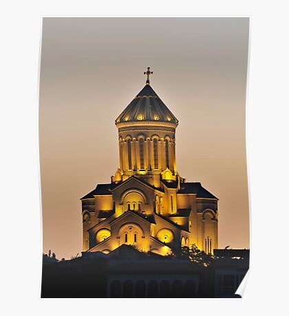 Tbilisi Cathedral Poster