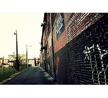 Vintage Alley Photographic Print