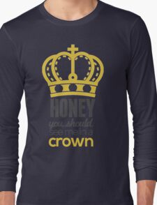 You Should See Me In A Crown - Moriarty Sherlock Long Sleeve T-Shirt