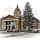 Henderson County Courthouse HDR by MKWhite