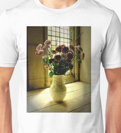 Flowered Window Light Raphoe, Donegal, Ireland Unisex T-Shirt