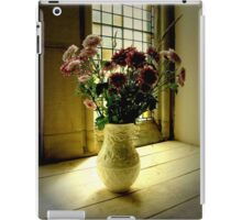 Flowered Window Light Raphoe, Donegal, Ireland iPad Case/Skin