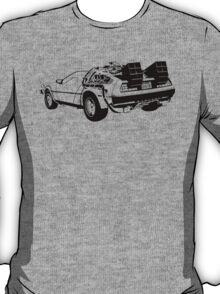 Back to the Future - Delorean T-Shirt