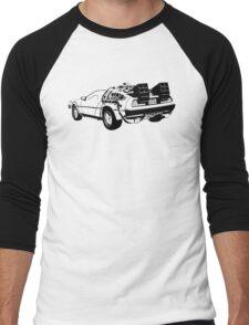 Back to the Future - Delorean Men's Baseball ¾ T-Shirt