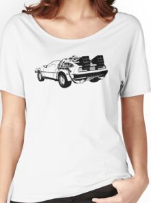 Back to the Future - Delorean Women's Relaxed Fit T-Shirt